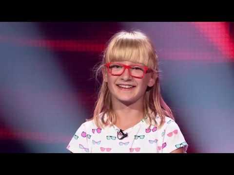 Zuzia Janik CAŁY WYSTĘP voice kids Katy Perry unconditionally i Christina Aguilera Hurt