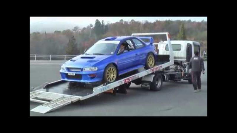 WRCマシンがタカタに降り立つ