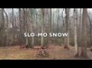SLO-MO Snow: Beautiful, Must See