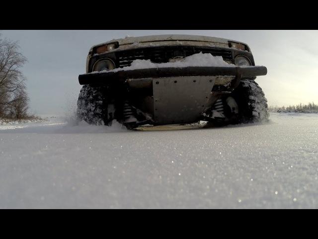 Нива на 35 х гудричах первый выезд по снегу Сузуки Jimny и много других Нив
