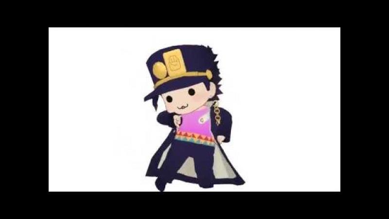 Chibi Jotaro MMD ジョジョMMD ちみ承太郎 αでハイファイレイヴァー ※8 3 DIO追加
