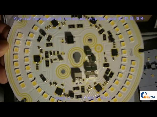 Уличный светодиодный светильник София модели 30 45 60 90 Вт