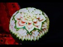 Watermelon carving   By chef Namtarn