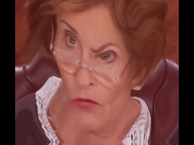 YouTube Poop Judge Judy Slams the Defendant's Small Claims