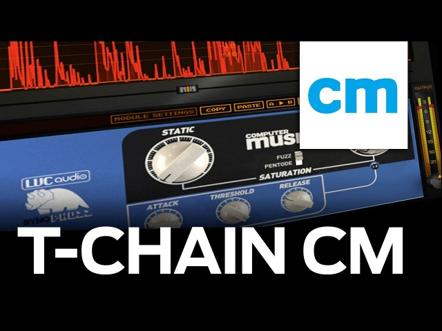 FREE VST/AU Mix Multieffect with CM | LVC-Audio T-Chain CM