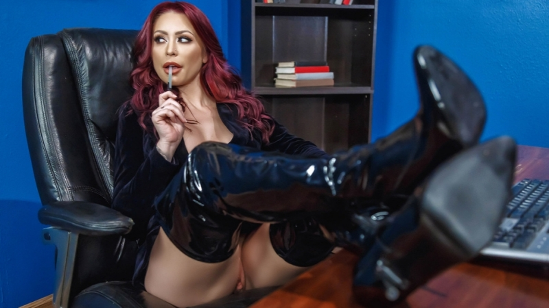 Красивый секс с Monique Alexander 1080p These Boots Were Made For Fucking Brazzers HD porno