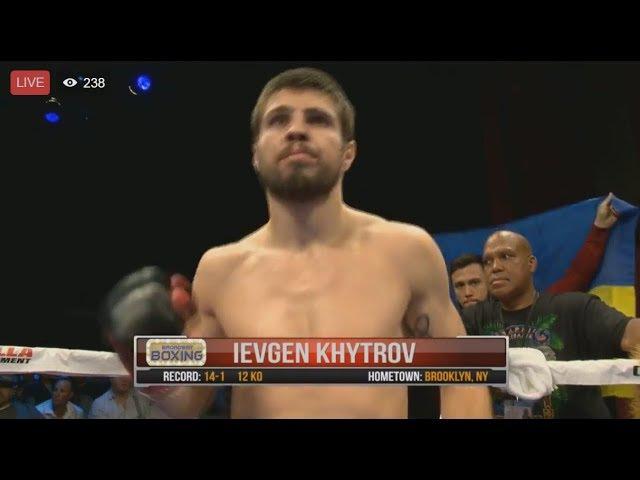 Евгений Хитров vs. Деррик Финдли БОЙ! Khytrov vs Findley