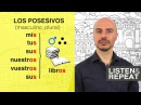 Learn Spanish 40 The possessive pronouns