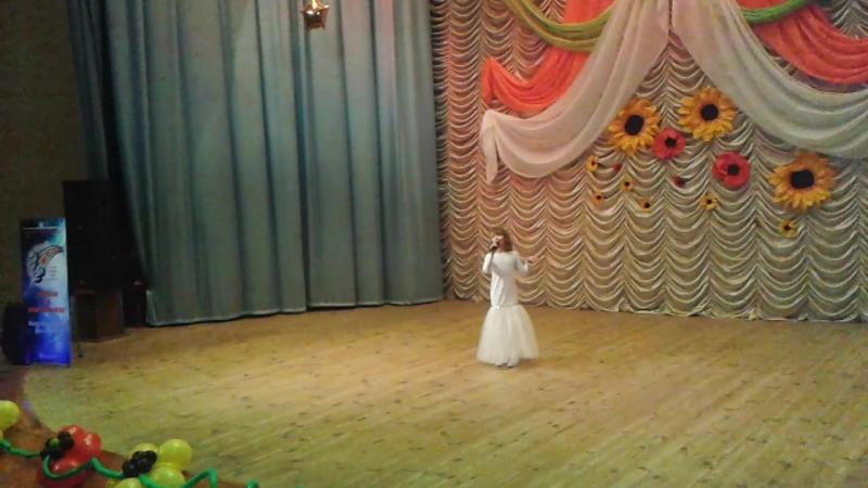 Пономаренко Полина полуфинал Всеукраинского телеконкурса ЗІрки та зіроньки
