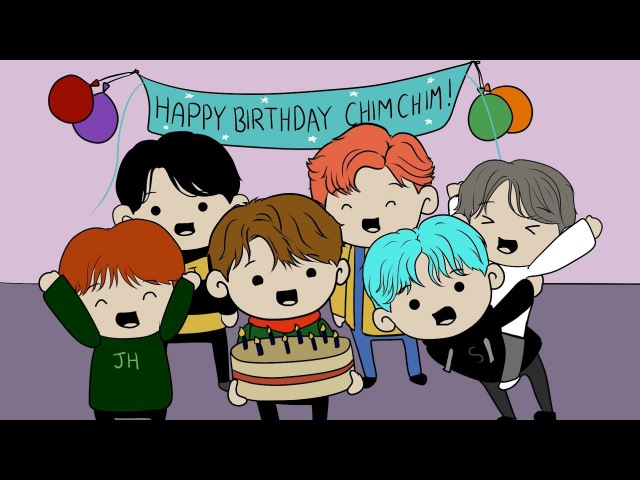 BTS Animation The Surprise Party