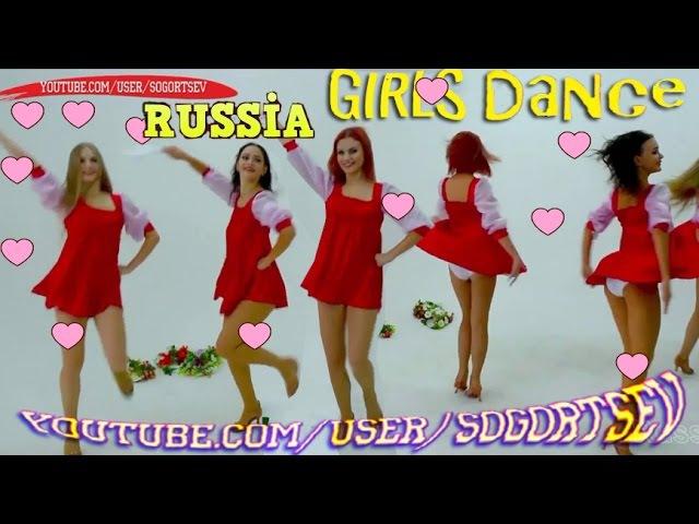 Beautiful Russian Women folk dance oops