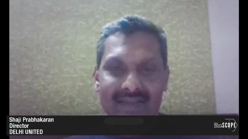 TheBigScope Interviews Shaji.Prabhakaran director at football club @DELHIUNITED