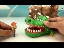 Shark Vs Crocodile Play Animal Toys learn color Boonie Bears Lego Toys