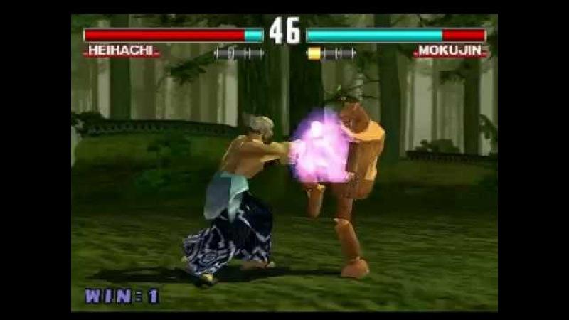 Tekken 3 Online 23 января 22 51 Mokujin Vs Mammoh