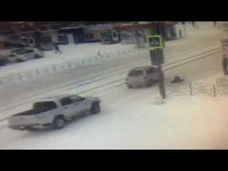 """В Улан-Удэ сбили мальчика, выскочившего под колёса """"Тойоты"""""""