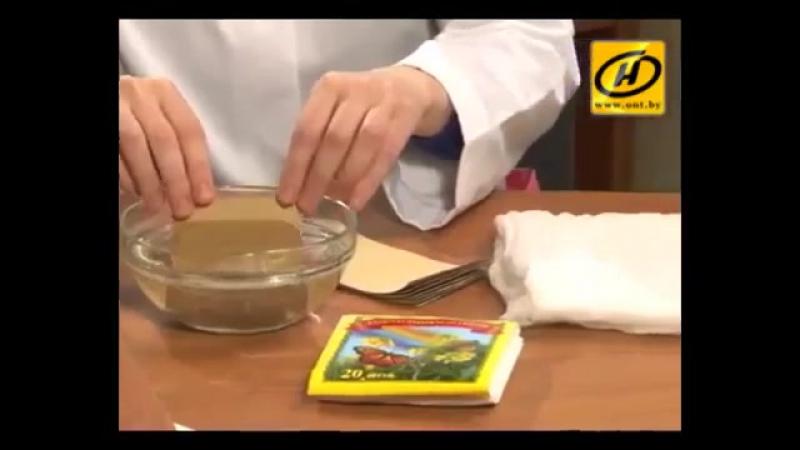 Как ставить горчичники