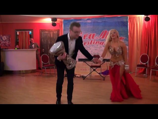 NEW!! DIVA DARINA!! 2017 !! Improvisation in St. Petersburg with Evgeny Strelnikov 2017 Mira Mar