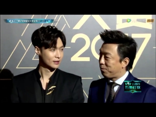 VIDEO 171203 Lay @ Tencent Video Star Awards | Red Carpet