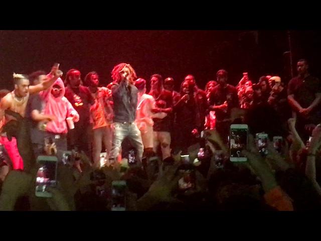 Lil Pump D Rose Live in LA 6 6 17