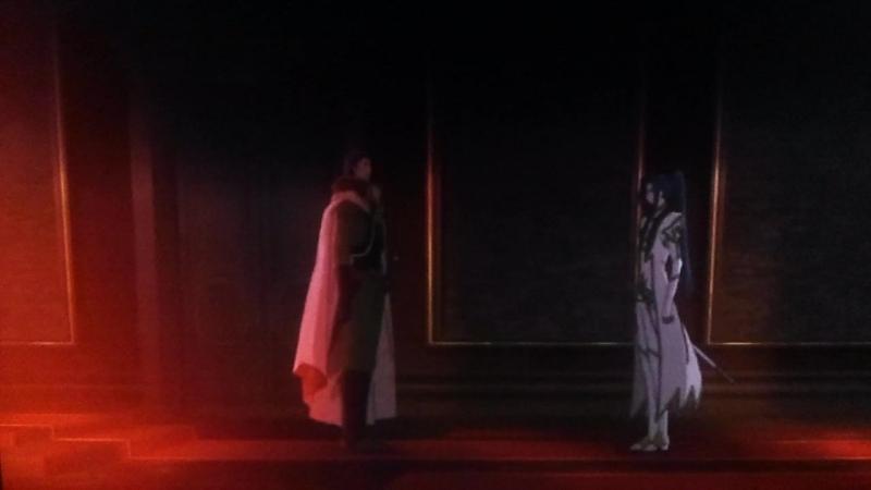 Код гиас отступник Акито Убийство главы ордена Святого Михаила