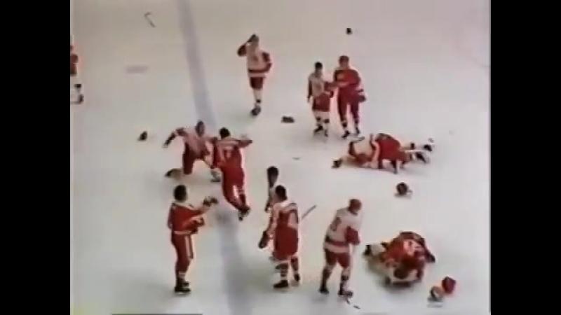 Легендарная драка в Пьештянах, СССР-Канада, 1987