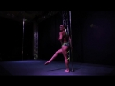 Winner of 1st Pole Dance World Cup Oona Kivela