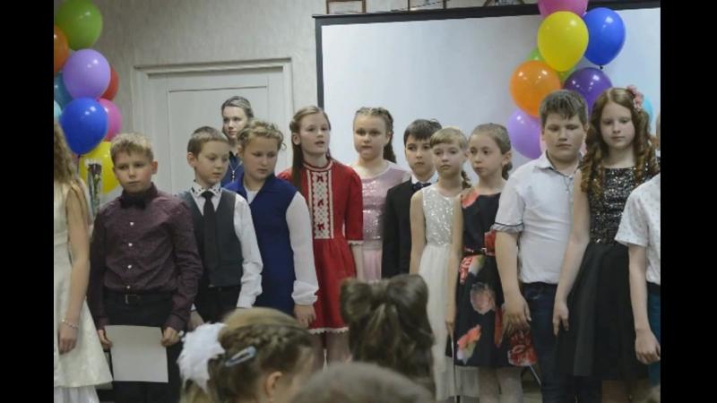 Выпускной из 4 класса у Алисы Лицей 34 Кострома 2018