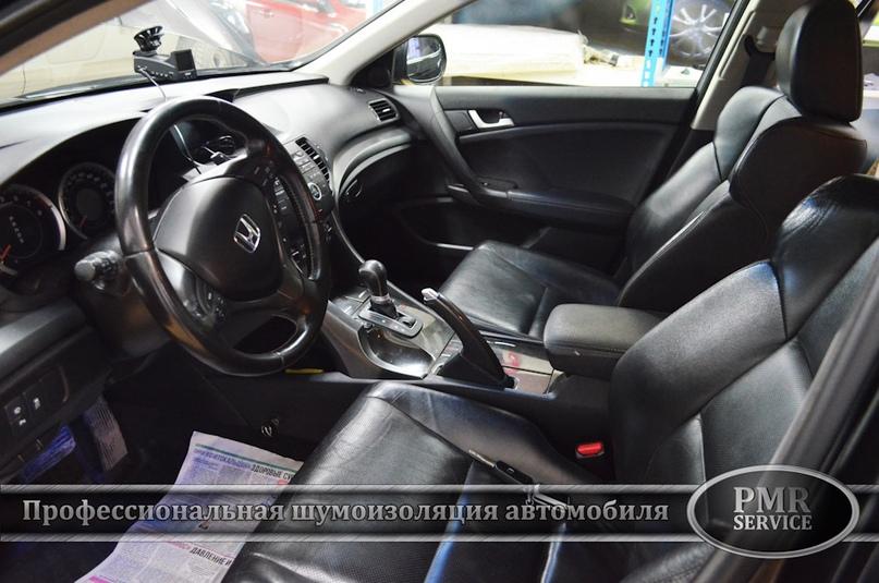 Шумоизоляция Honda Accord, изображение №14