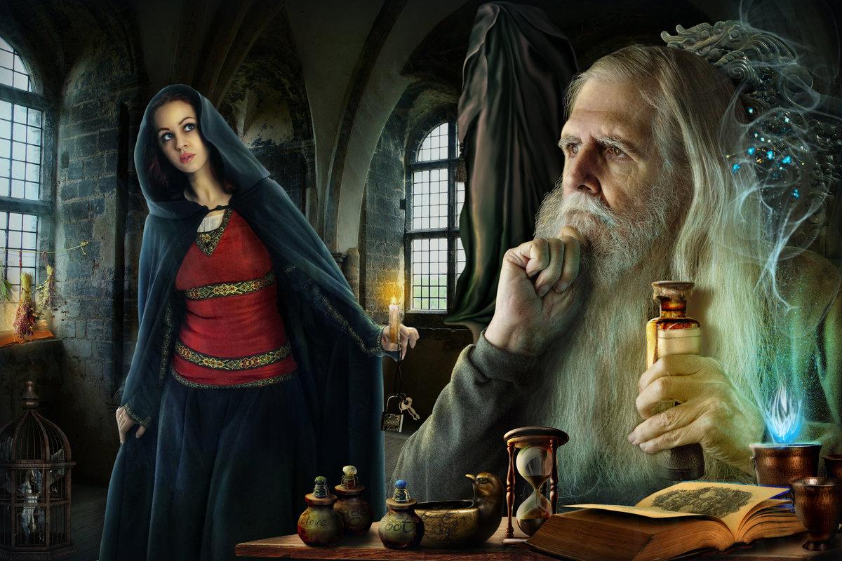 Картинки ведьм и магов