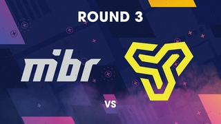 BLAST Pro Series Istanbul 2018 - Round 3 MiBR vs. Space Soldiers