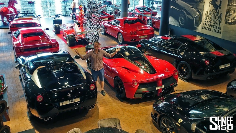 THIS is the Ultimate Ferrari Mancave!