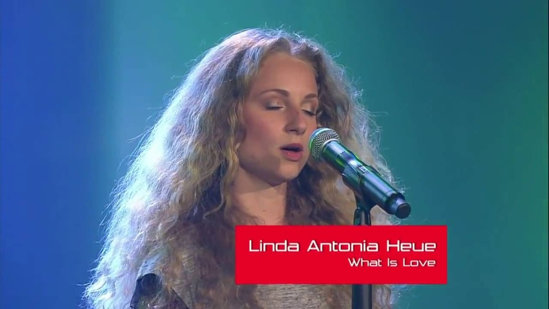 What is love Haddaway - | Linda Antonia Heue | The Voice | Blind Audition 2014
