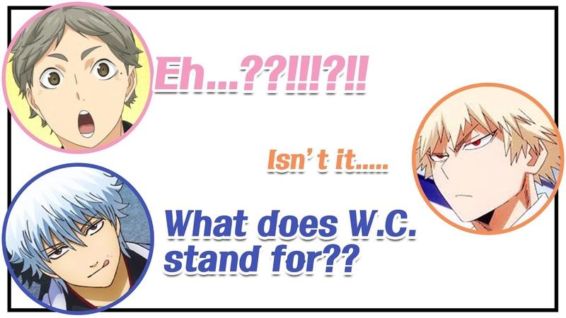 [Daily Conversation] What does WC stand for? (Sugita, Nobuhiko, Miyu) ⎮ CoLLa Game
