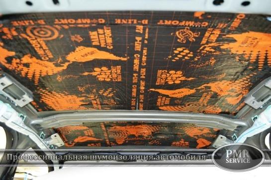 Шумоизоляция BMW X5, изображение №4