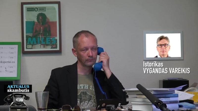 Istorikas V. Vareikis apie partizaninį karą ir TSRS profesorių disertacijas bei dabar gaunamas mokslininkų pensijas (2018.07.27)