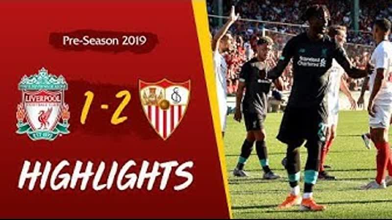 Liverpool vs Sevilla | Origi strike not enough for Reds at Fenway Park