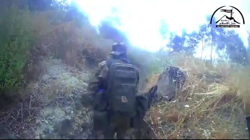 Syria excerpt showing raids carried out by Rebels in Jebal Turkman N. Latakia. Multiple fo