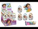 Открываем Киндеры Сюрпризы ДАША ПУТЕШЕСТВЕННИЦА видео для детей Dora the Explorer Kinder Surprise