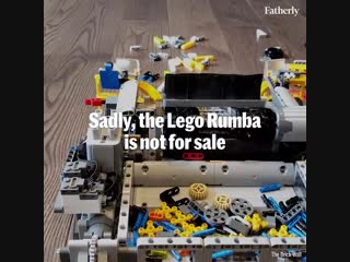 Never step on a brick again with this handy vaccum made entirely of lego