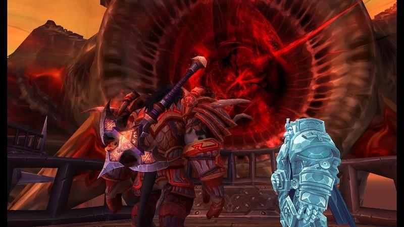 World of Warcraft Legion Силитус новый сюжетный квест Сила в наших руках