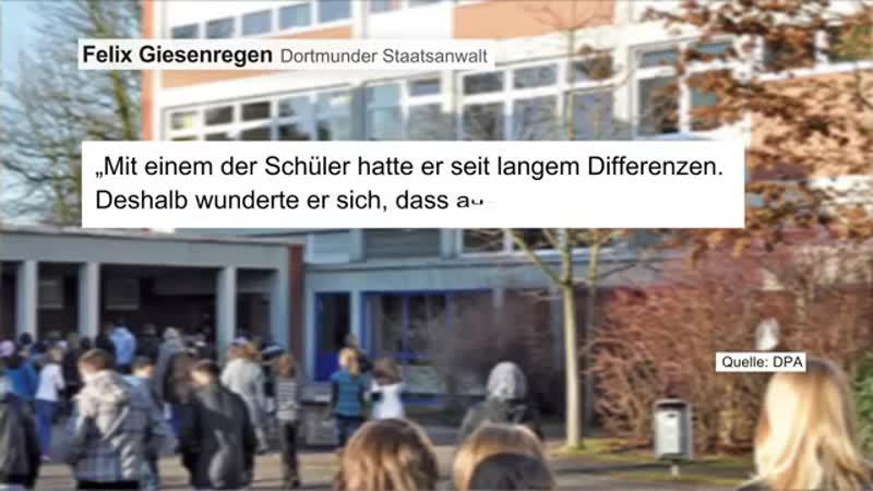 SCHLECHTE ZENSUREN Dortmunder Schüler Türke planten wohl Hammermord an Lehrer 1