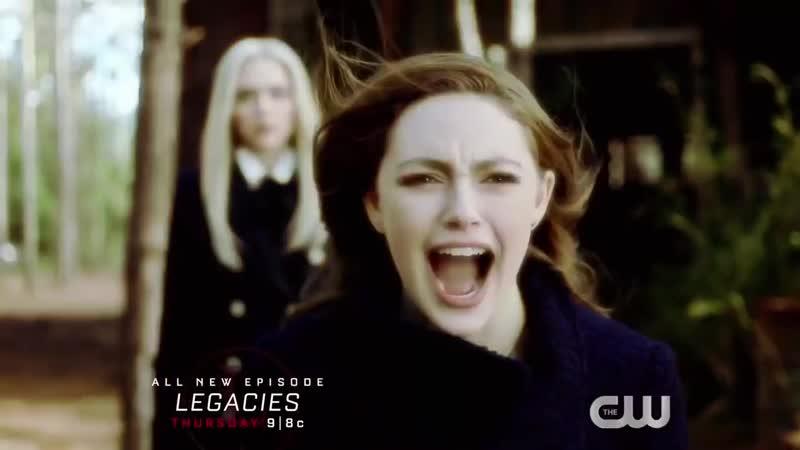 Наследие 1 сезон 14 серия Legacies 1x14 Русское промо