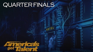 Front Pictures: Epic Projection Act Shocks Audience With Innovative Tech - America's Got Talent 2018