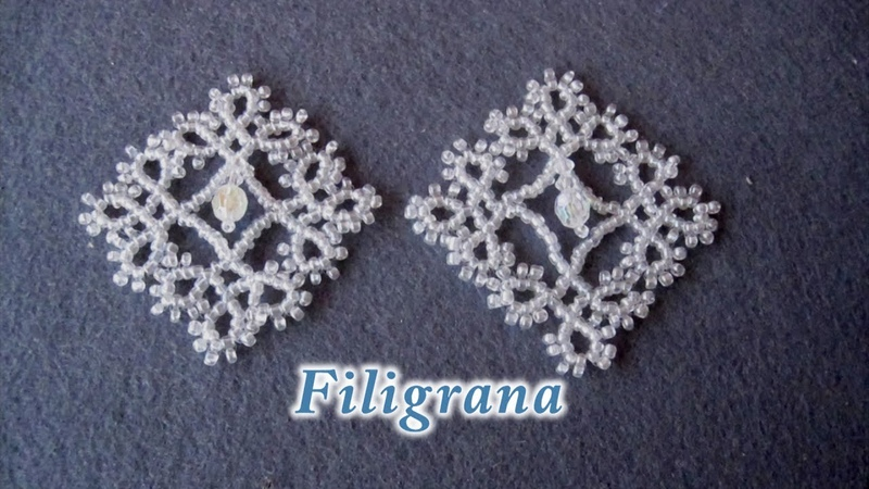 DIY FIligrana colgante DIY FIligrana pendant