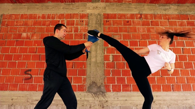 Training For Kumite Jovana Drca Advanced Kicking Techniques WKF Karate GEPARD Mladenovac