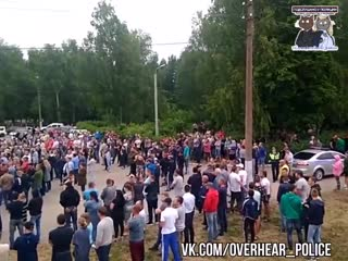 Конфликт в Чемодановке. Народный сход.