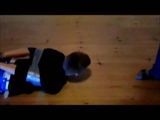 Dansk ff duck tape challenge hogtie 3