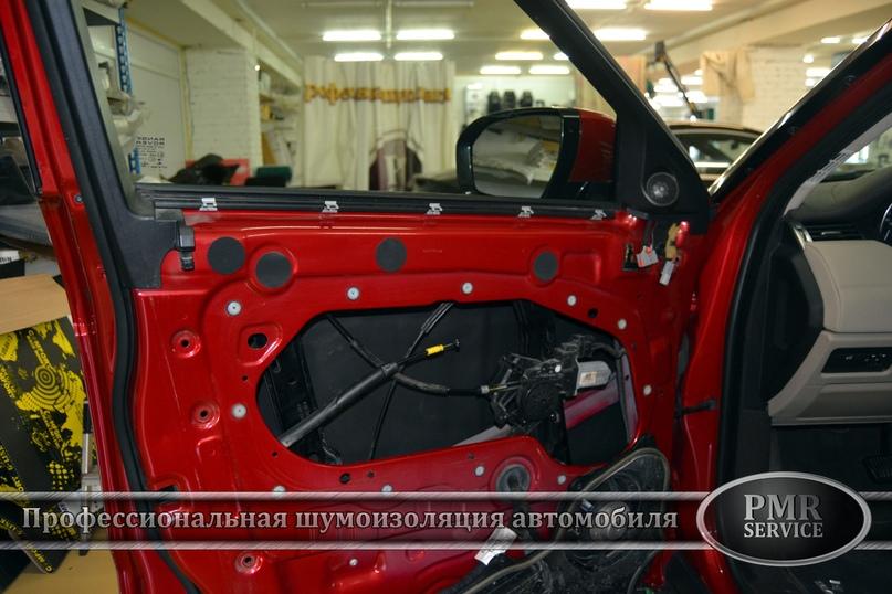 Комплексная шумоизоляция Land Rover Evoque, изображение №14