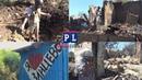 Обстрелом ВСУ сожжено 2 дома в Зайцево, ДНР.