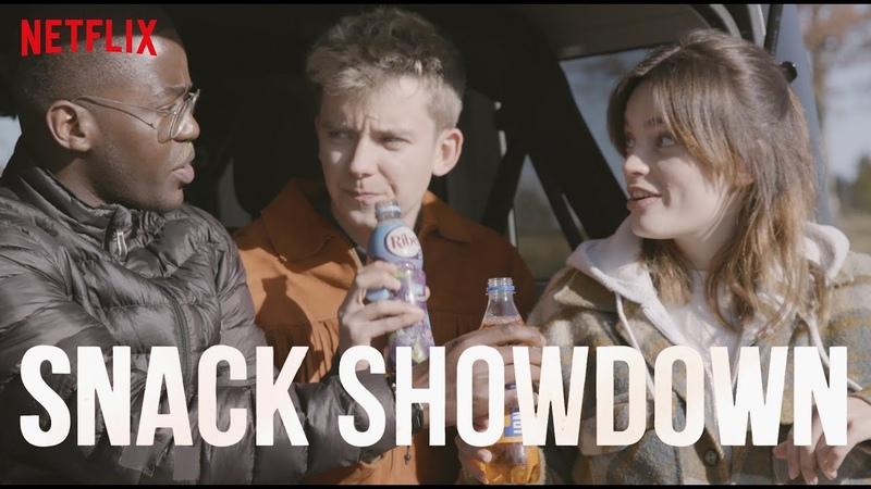 Sex Education Cast Snack Showdown US vs UK Netflix